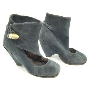Marc by Marc Jacobs Wedge Suede Shoes